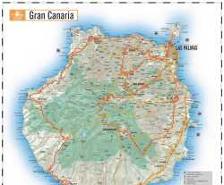 Gran Canaria,mapa Gran Canaria,map of Gran Canaria,Canary Islands