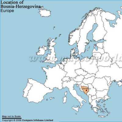 Bosna A Hercegovina Mapa Bosny Informace O Zemi Pocasi Online