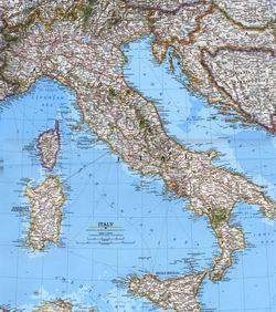 Itálie,silniční mapa itálie,italy,road map of italy,italia,mappa
