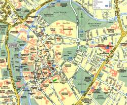Cambridge,mapa Cambridge,map of Cambridge