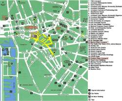 Liverpool,mapa Liverpoolu,Liverpool,map of Liverpool